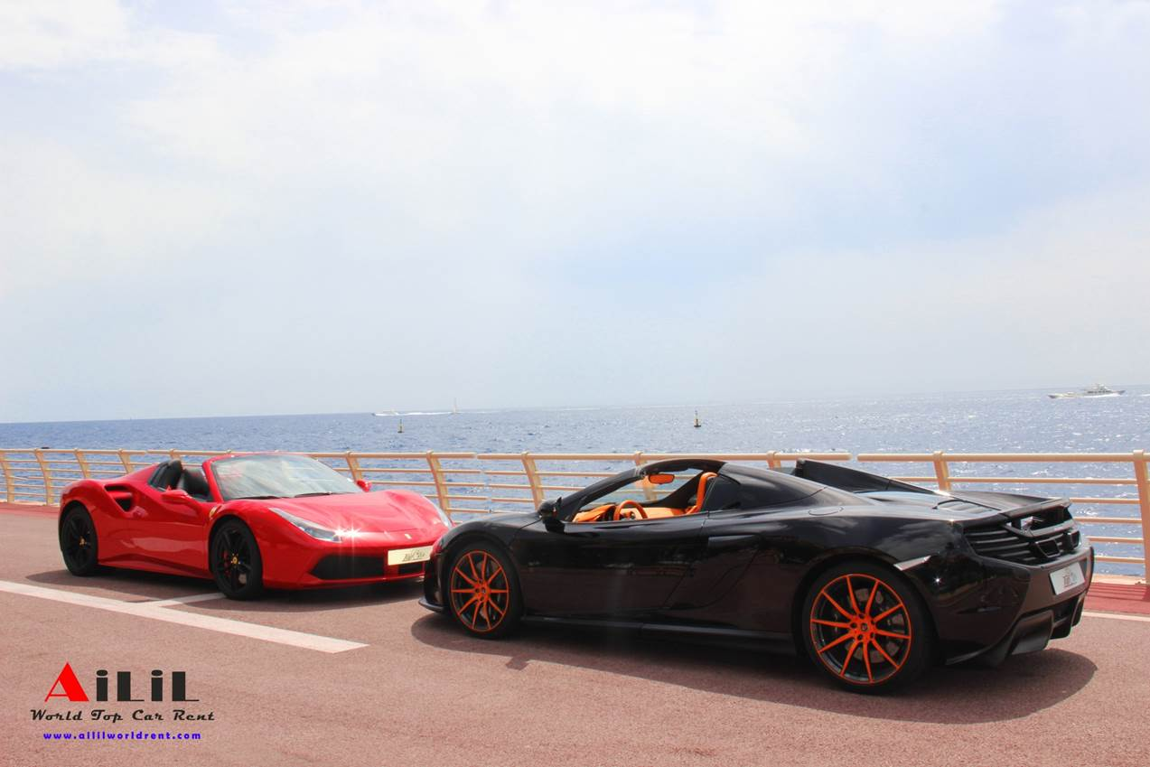 how much does it cost to rent ferrari ou mclaren for 1 day in france
