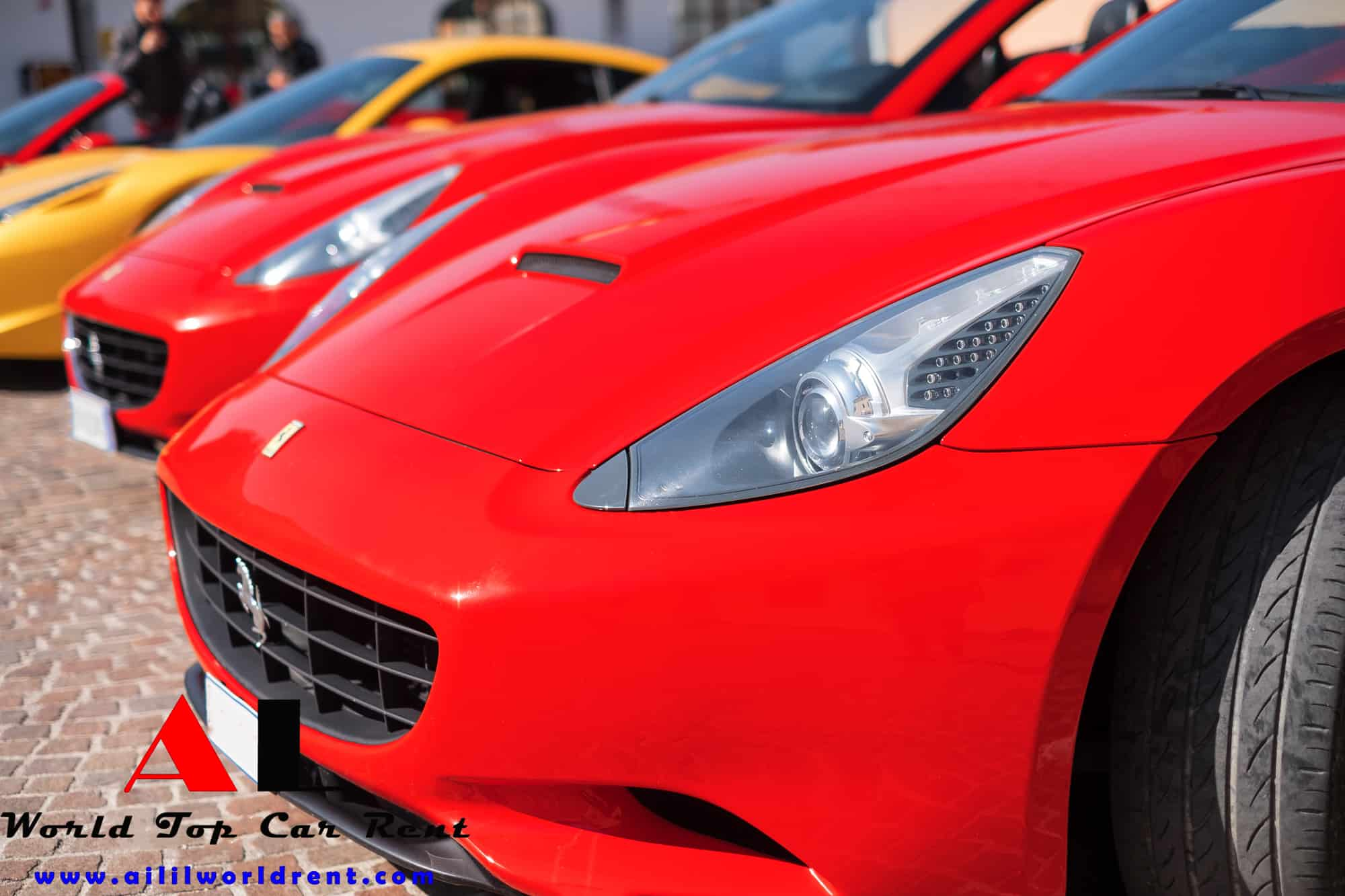 exclusive driving turs with ferrari in tuscany, where to drive ferrari in italy, rent couple ferrari for ferrari tour