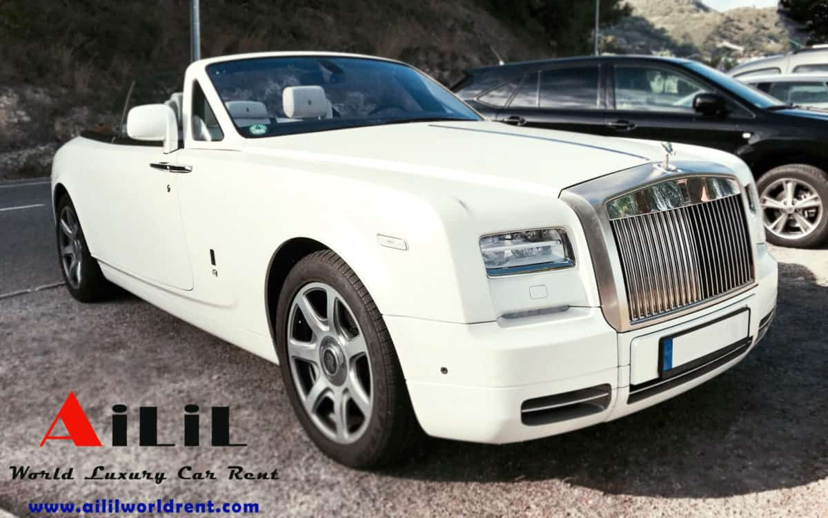 rent rolls royce phantome for a wedding in cannes, how to rent rolls royce in nice airport